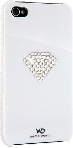 Чехол-накладка White Diamonds Rainbow White для iPhone 4 - Фото 1