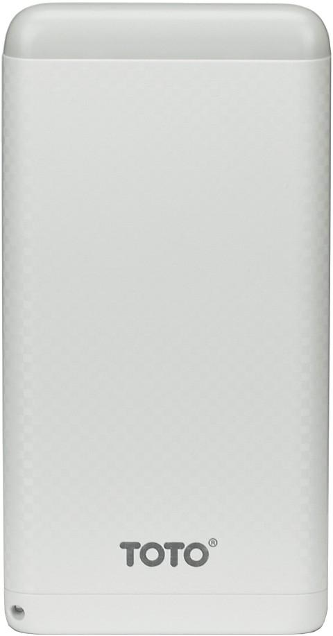 Портативная батарея TOTO TBG-15 Power Bank 8000 mAh 2USB 3,1A Li-pol White - Фото 1