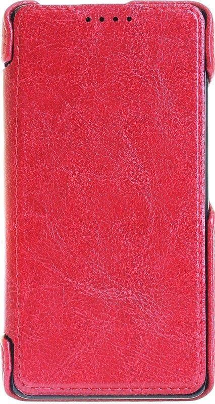 Чехол-книжка RedPoint Fit Book для Lenovo A5000 Красный - Фото 1