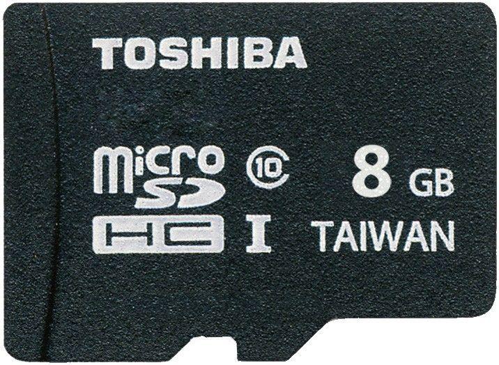 Карта памяти Toshiba microSDHC 8Gb class 10 UHS-I - Фото 1