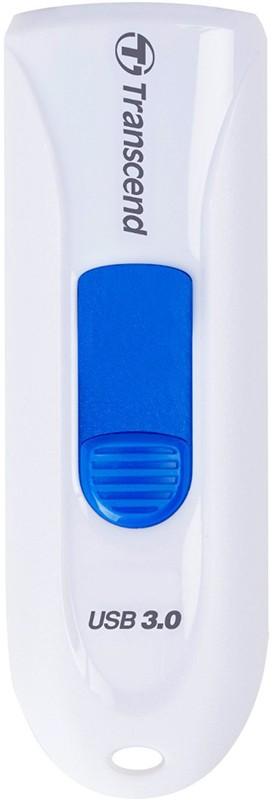 USB Flash Transcend JetFlash 790 USB 3.0 32Gb White - Фото 1