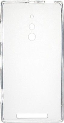 Чехол-накладка Drobak Elastic PU для Nokia Lumia 830 White\Clear - Фото №1