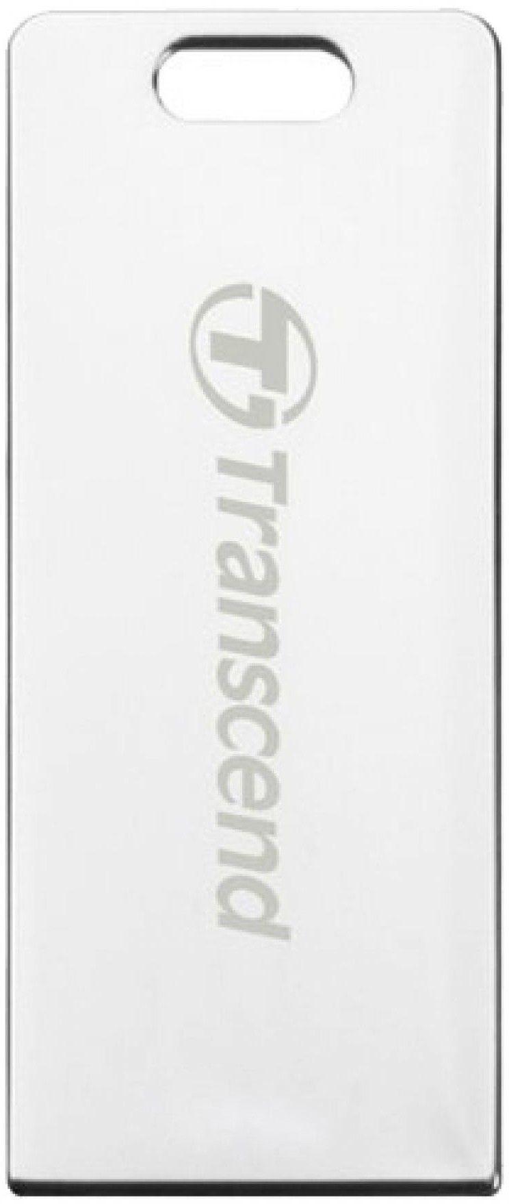 USB Flash Transcend JetFlash T3S 32Gb Silver - Фото 1