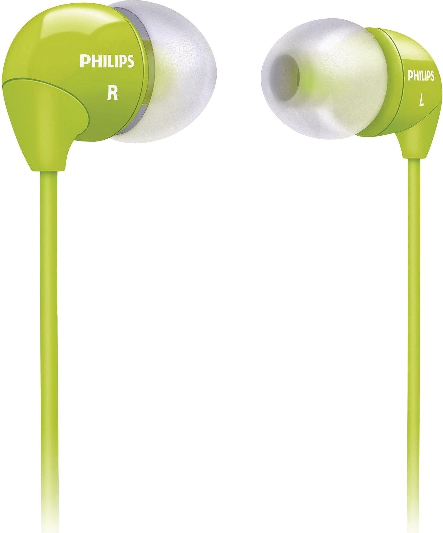Наушники Philips SHE3590GN/10 Green - Фото 1