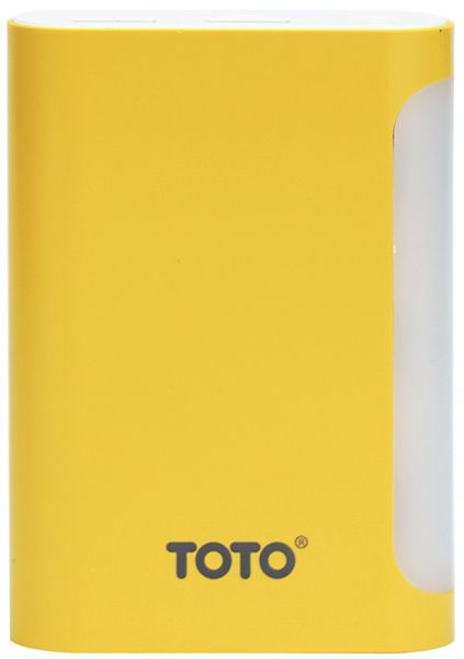 Портативная батарея TOTO TBG-48 Power Bank 7500 mAh 2USB 3,1A Li-Ion Yellow
