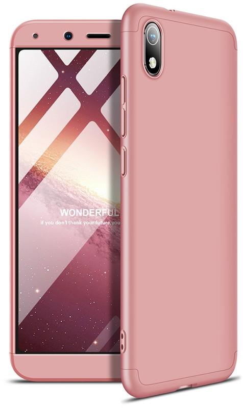 GKK 3 in 1 Hard PC Case Xiaomi Redmi 7A Rose Gold