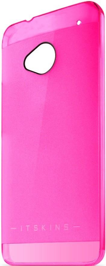 Чехол-накладка itSkins Ghost cover case для HTC One/One Dual Sim Pink - Фото 1