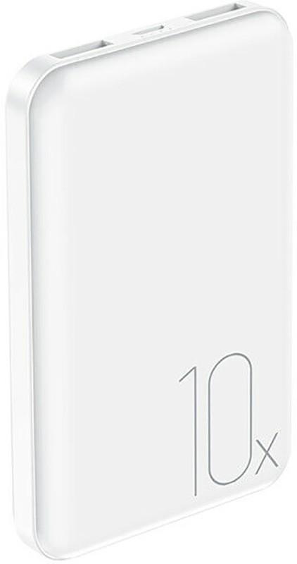 Купить Портативные батареи, Usams US-CD70 Dual USB Mini Power Bank 10000mAh White