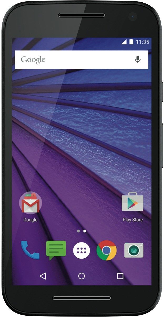 Смартфон Motorola Moto G XT1550 16GB DS Black - Фото 1
