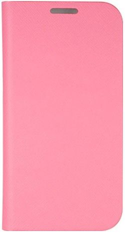 Чехол-книжка ANYMODE Case SAFFIANO для Galaxy S4 mini i9192/9190/9195 Pink - Фото 1