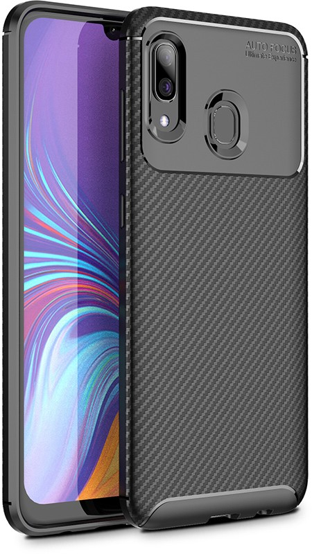 Купить Чехлы для телефонов, TOTO TPU Carbon Fiber 1, 5mm Case Samsung Galaxy A40 Black