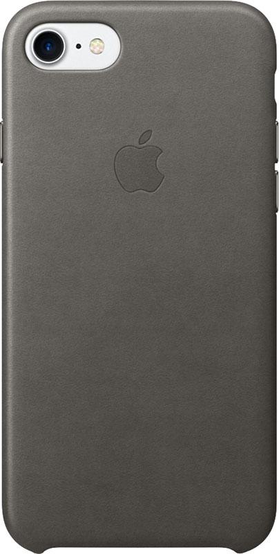 Купить Чехлы для телефонов, Apple Leather Case iPhone 7/8 Dark Grey