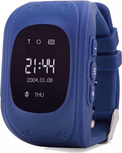 UWatch Q50 Kid smart watch Dark Blue - фото