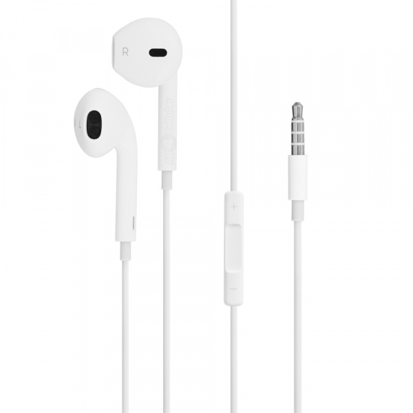 Apple EarPods with Remote and Mic HC White - фото