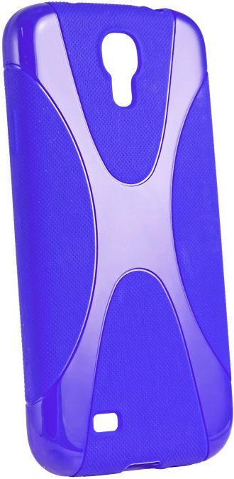 Чехол-накладка New Line Silicon Case для Samsung S7262/S7260 Blue - Фото 1