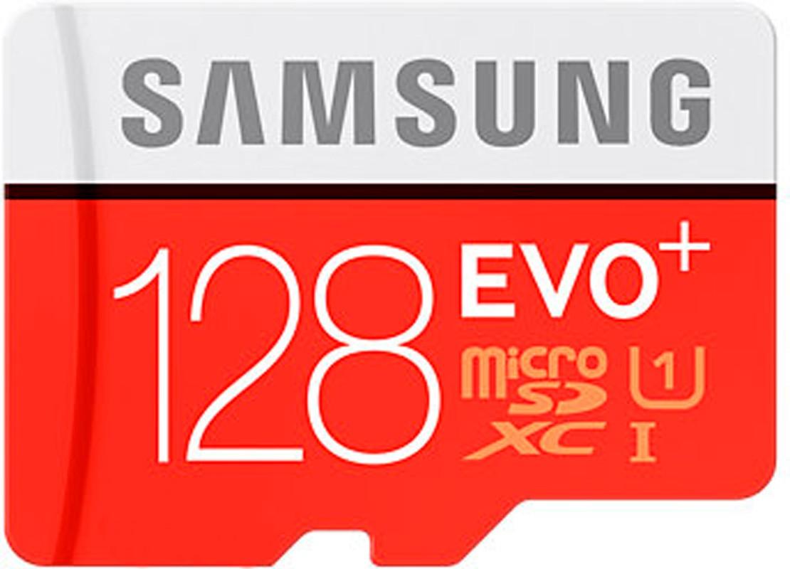 Карта памяти Samsung EVO Plus microSDXC UHS-I 128GB сlass10 +SD - Фото 1