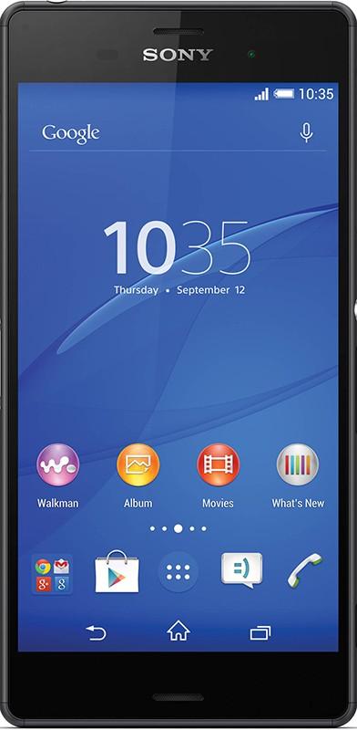 Смартфон Sony Xperia Z3 D6633 Black - Фото 1