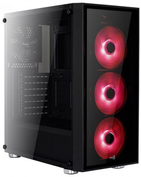 Aerocool PGS-B Quartz Red (4713105968934) - фото