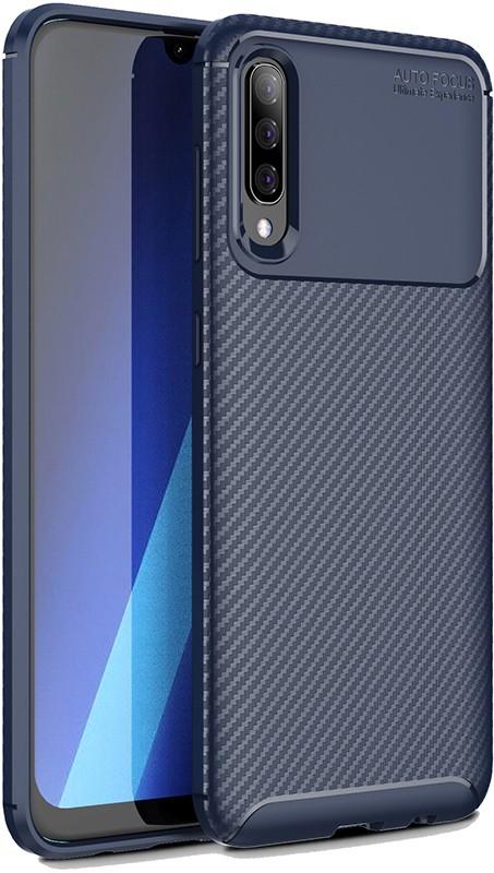 Купить Чехлы для телефонов, TOTO TPU Carbon Fiber 1, 5mm Case Samsung Galaxy A70 Dark Blue