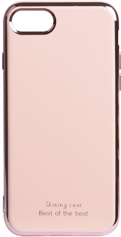 Купить Чехлы для телефонов, TOTO Electroplate TPU 2mm Case Apple iPhone 7/8 Rose Red
