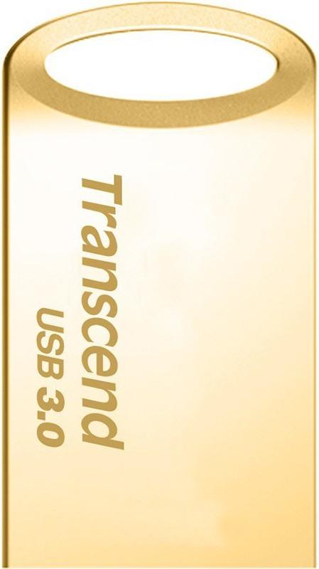USB Flash Transcend JetFlash 710 USB 3.0 16Gb Gold - Фото 1