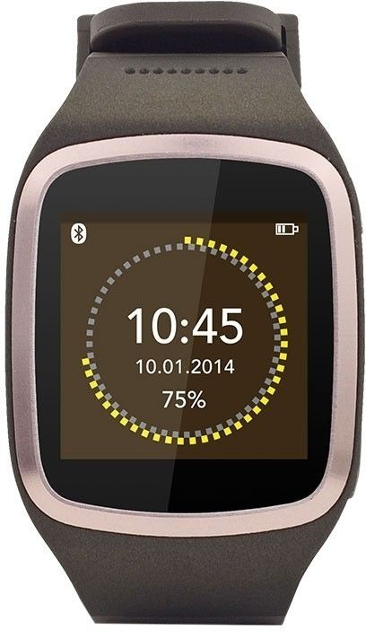 Смарт-часы MyKronoz Smartwatch ZeSplash KRZESPLASH-Brown - Фото 1