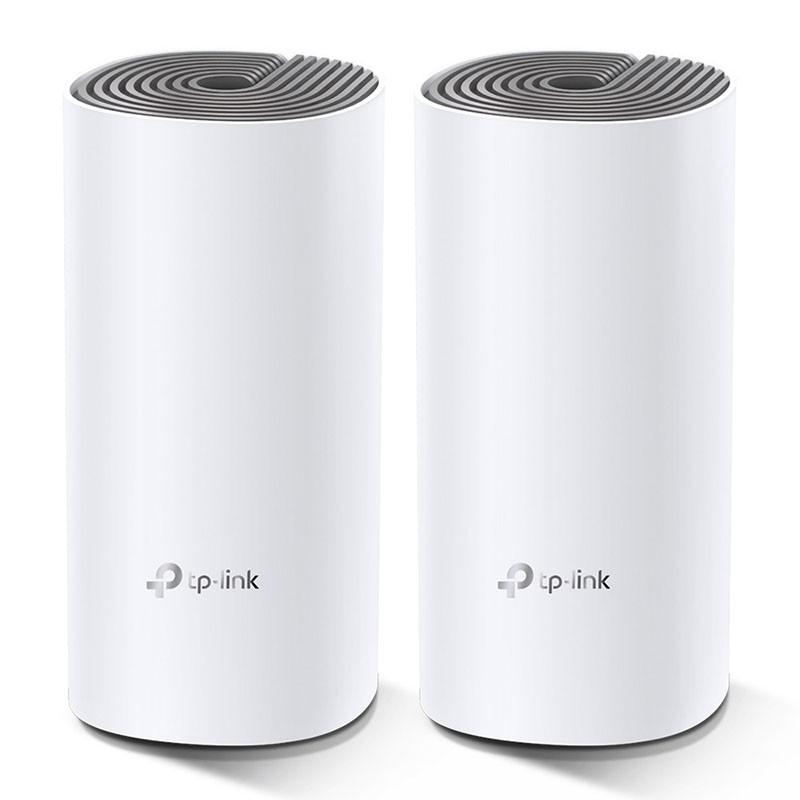 Купить Wi-Fi маршрутизаторы и точки доступа, TP-Link Deco E4 (2-Pack)