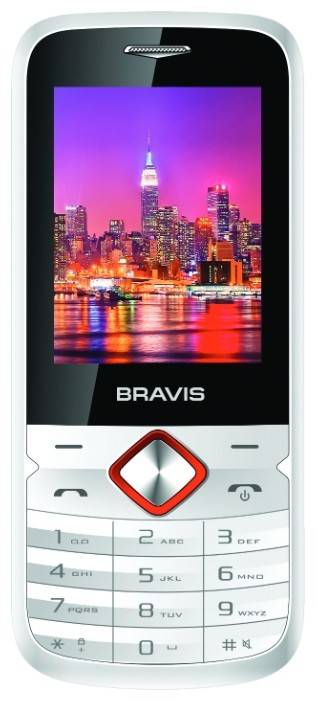 Мобильный телефон Bravis Pronto White - Фото 1