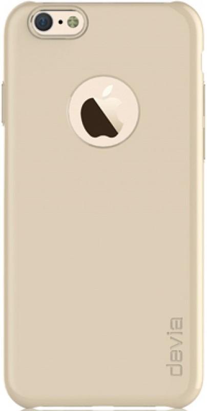 Чехол-накладка Devia Chic для iPhone 6 Champagne Gold - Фото 1