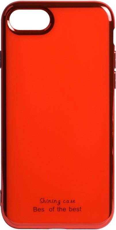 Купить Чехлы для телефонов, TOTO Electroplate TPU 2mm Case Apple iPhone 7/8 Red