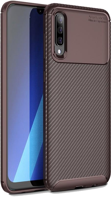 Купить Чехлы для телефонов, TOTO TPU Carbon Fiber 1, 5mm Case Samsung Galaxy A70 Coffee