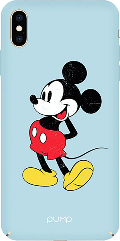 PUMP Tender Touch Case for iPhone X/XS Mickey Mouse La Vintage