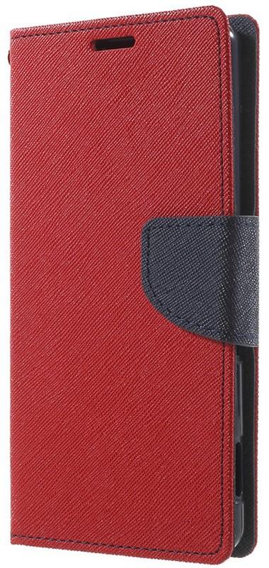 Чехол-книжка TOTO Book Cover Mercury Meizu M3S Red - Фото 1