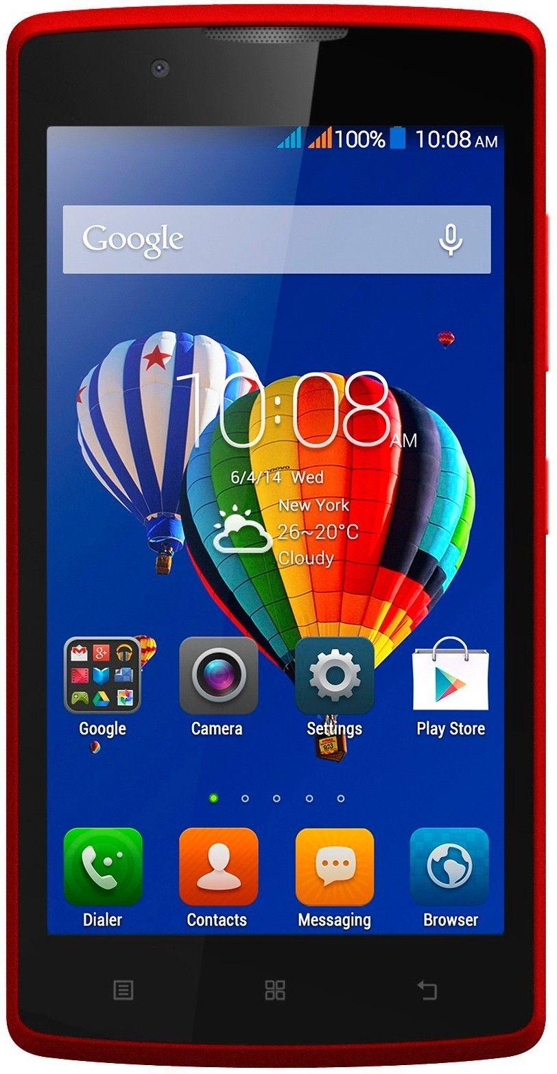 Смартфон Lenovo A2010 Dual Red - Фото 1