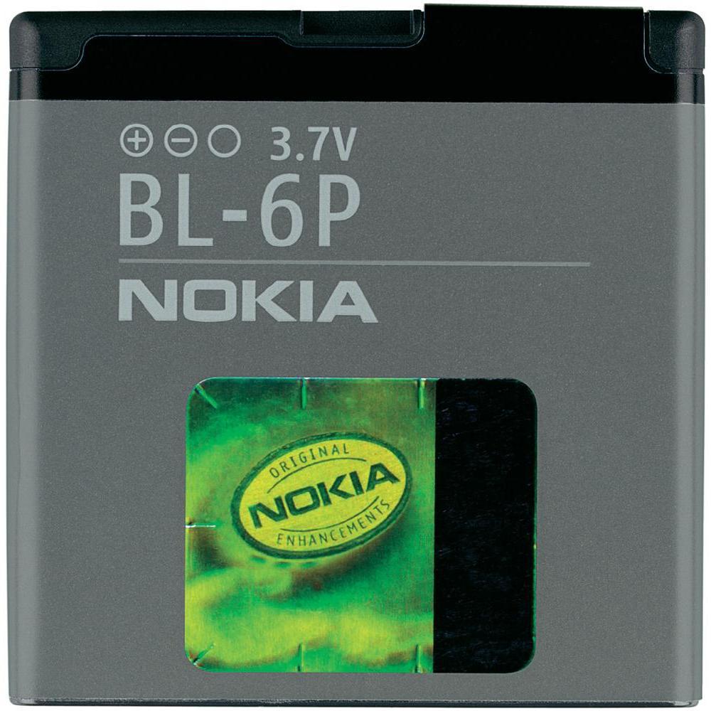 Аккумулятор Nokia (BL-6P) - Фото 1