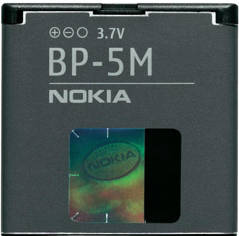 Аккумулятор Nokia 5610 (BP-5M) - Фото 1