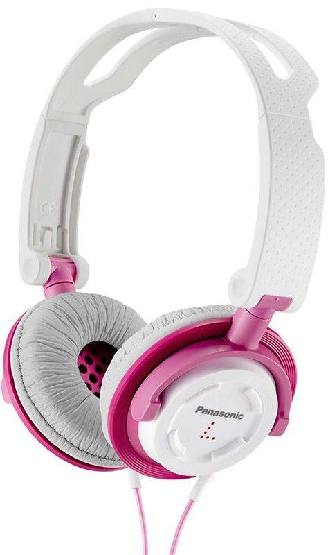 Наушники Panasonic RP-DJS150E-P White/Pink - Фото 1