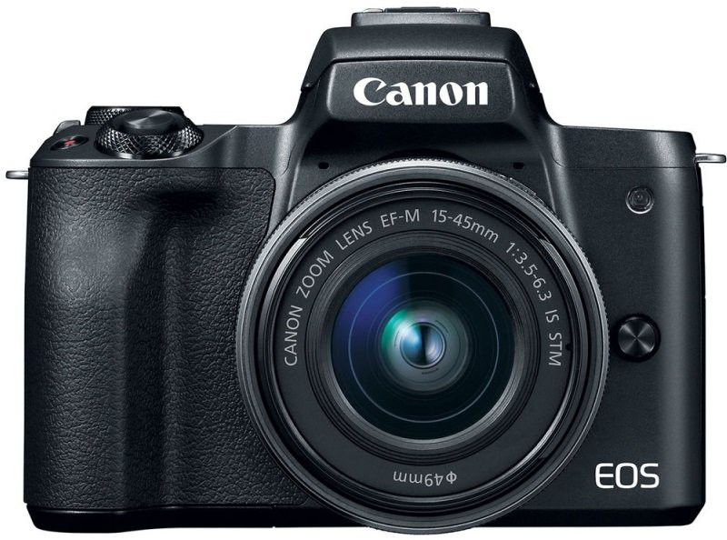 Canon EOS M50 kit (15-45mm) IS STM Black
