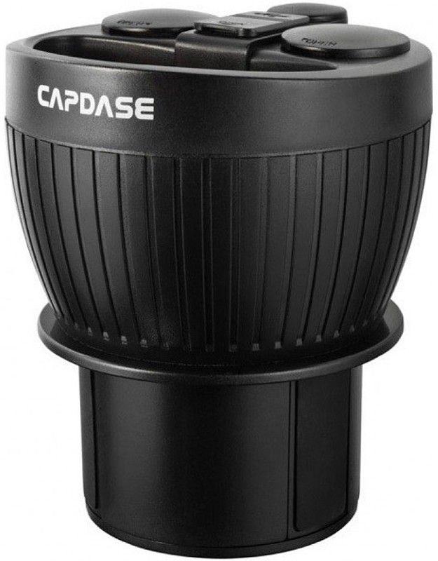 Автодержатель Capdase Car Charger Holder PowerCup 2.2 3.1A Black - Фото 1