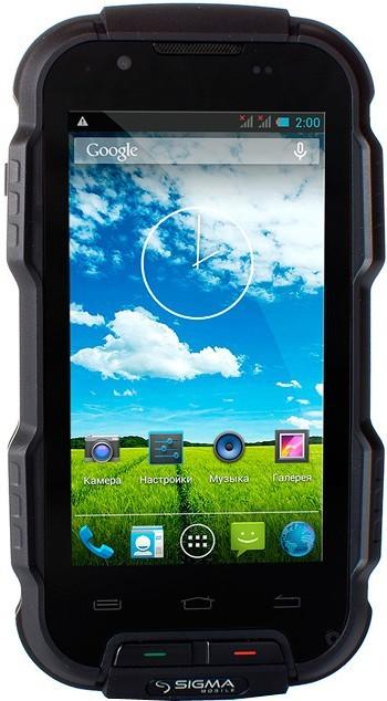 Смартфон Sigma mobile X-treme PQ23 Black - Фото 1