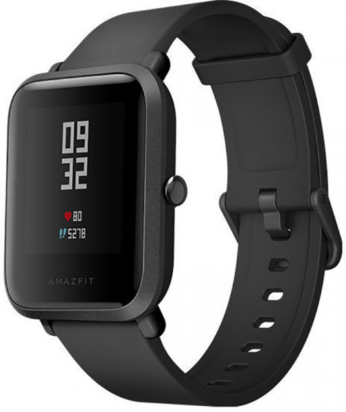 Amazfit Bip Lite Youth Smart Watch Black - фото