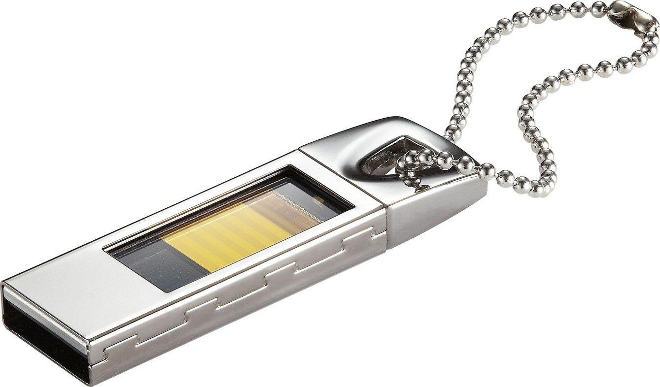 USB Flash Kingmax UI-05 16Gb Silver - Фото 1