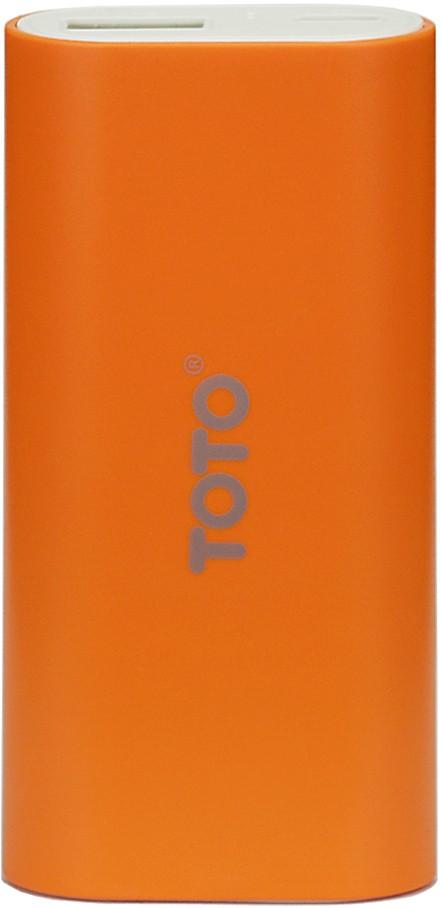 Портативная батарея TOTO TBG-18 Power Bank 5000 mAh 1USB 1A Li-Ion Orange - Фото 1