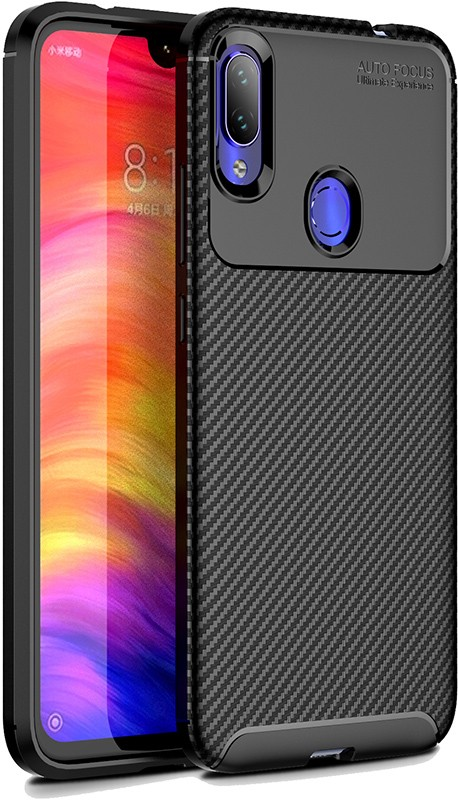 Купить Чехлы для телефонов, TOTO TPU Carbon Fiber 1, 5mm Case Xiaomi Redmi Note 7/Note 7S/Note 7 Pro Black