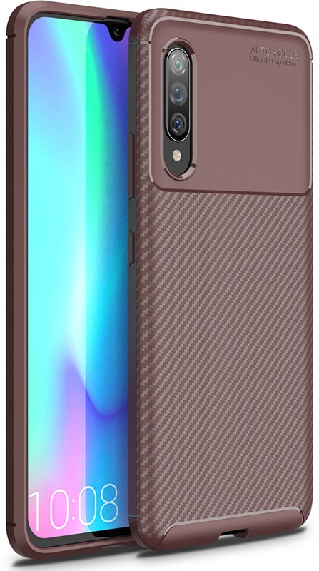 Купить Чехлы для телефонов, TOTO TPU Carbon Fiber 1, 5mm Case Samsung Galaxy A90 5G Coffee