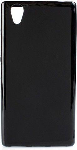 Чехол-накладка Drobak Elastic PU Clear для Lenovo A7000 Black\Clear - Фото 1