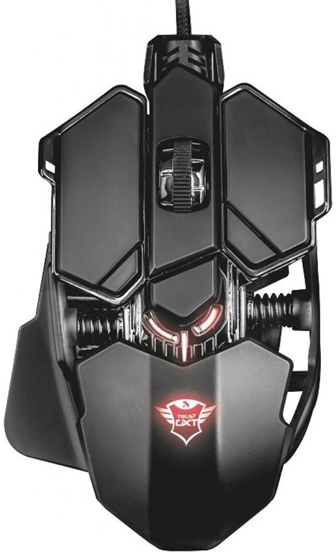 Купить Клавиатуры и мыши, Trust GXT 137 X-Ray Illuminated Gaming Mouse (22089) Black