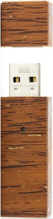 USB Flash Goodram ECO 8Gb Wood - Фото 1