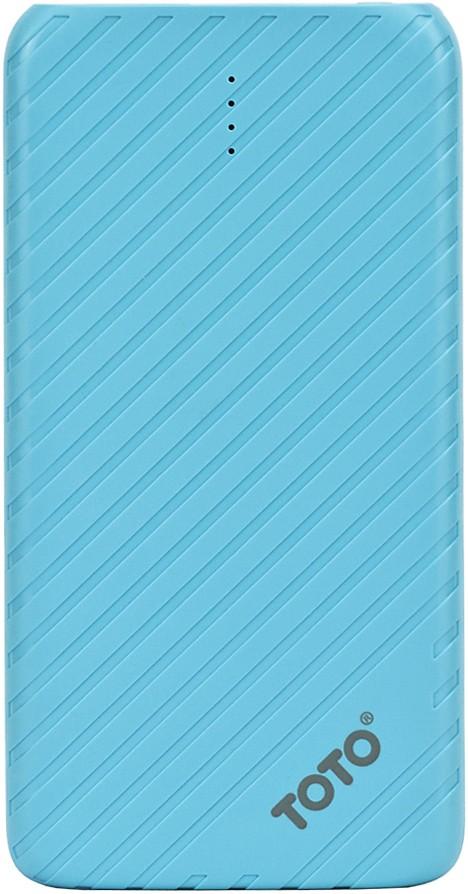 Портативная батарея TOTO TBG-14 Power Bank 4000 mAh 1USB 1A Li-pol Blue - Фото 1