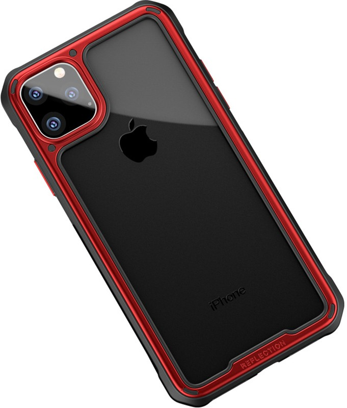 Купить Чехлы для телефонов, Ipaky Mufull Series TPU+PC Case Apple iPhone 11 Pro Max Red